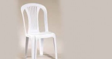 Kolçaksız beyaz plastik sandalye kiralama