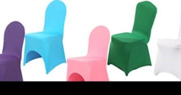 Sandalye streç örtü kiralama