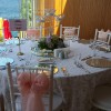 Beyaz veya krem banket masa saten kiralama